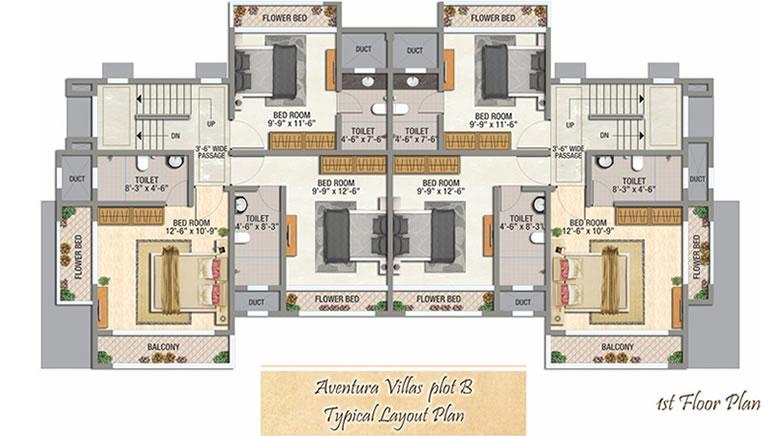 Lonavala Bungalows Part - 27: 1st Floor Plan For Lonavala Villa